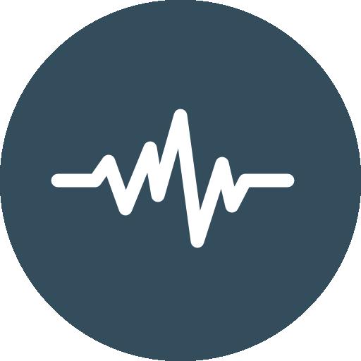 Sound waves  free icon