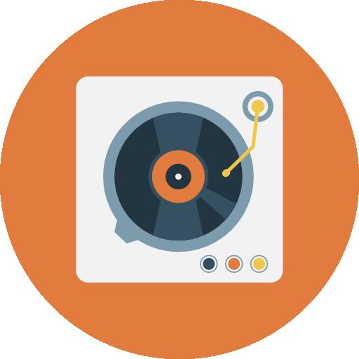 Turntable  free icon