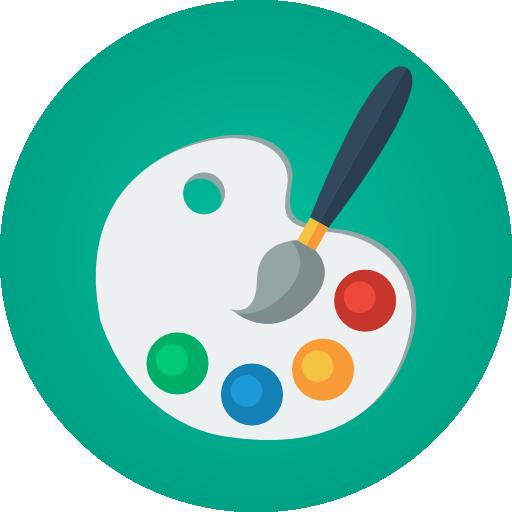Paint palette  free icon