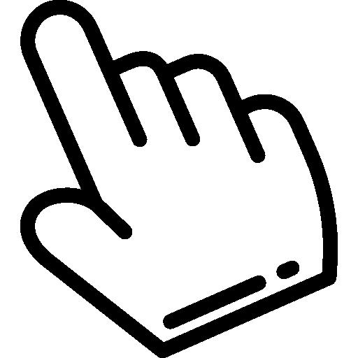 puntero  icono gratis