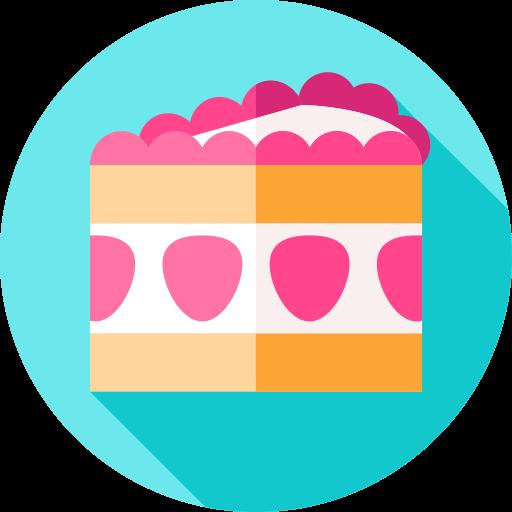 gâteau aux fraises  Icône gratuit