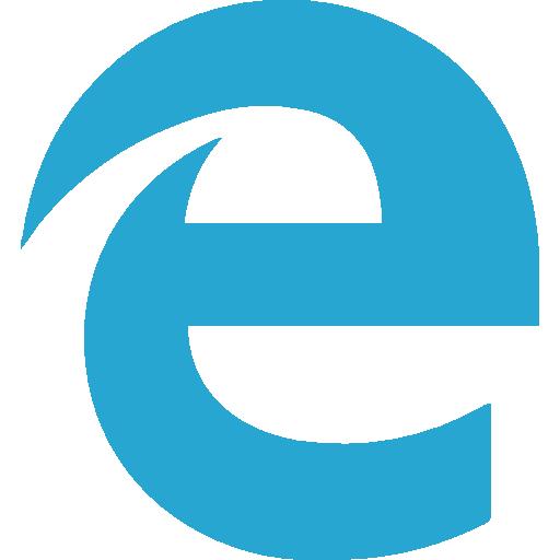 Edge  free icon