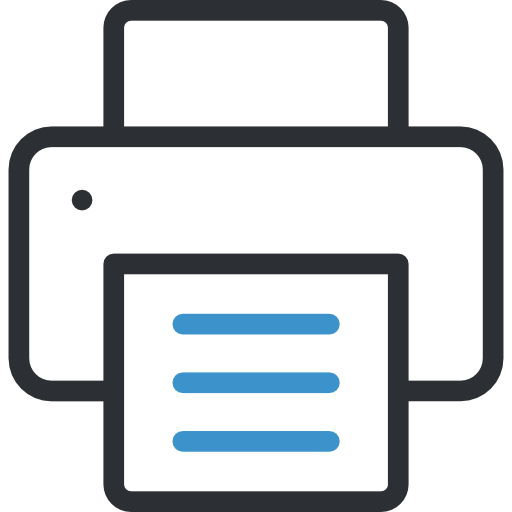 Printer  free icon