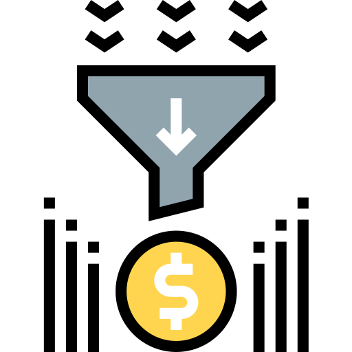 Sales funnel  free icon