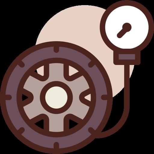 Tire pressure  free icon
