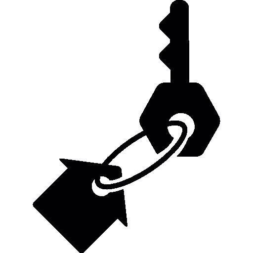 House keychain  free icon