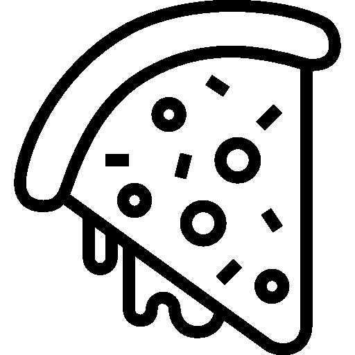 pizza stück  kostenlos Icon