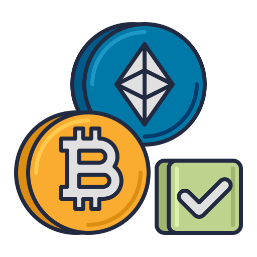 Cryptocurrency  free icon