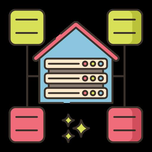 entrepôt de données  Icône gratuit