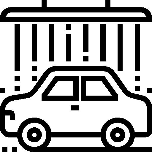 Car wash  free icon