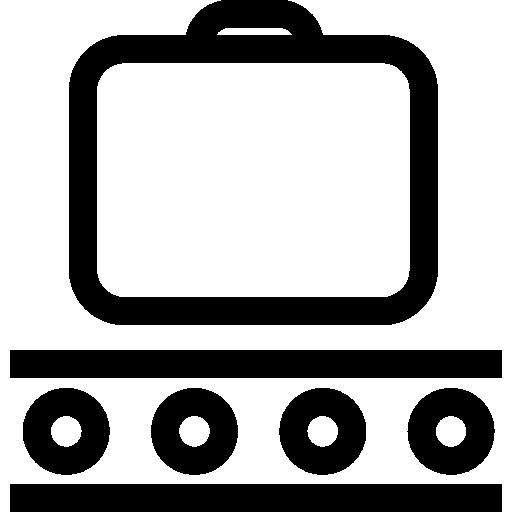 Luggage  free icon