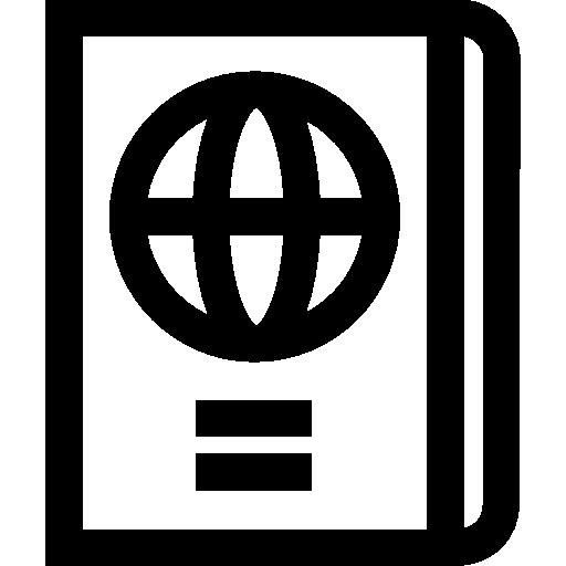 Passport  free icon