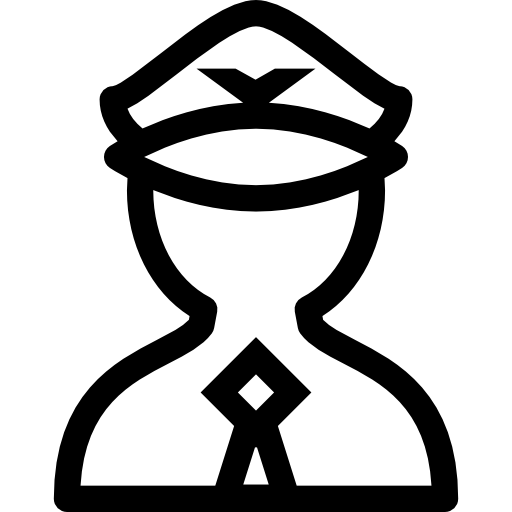 piloto  icono gratis