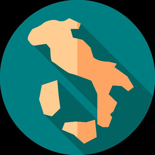 Italia país  icono gratis
