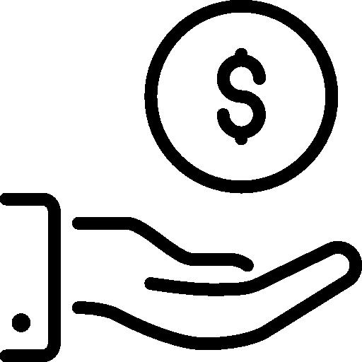 donación  icono gratis