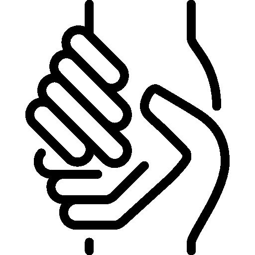 caridad  icono gratis