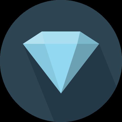 다이아몬드  무료 아이콘