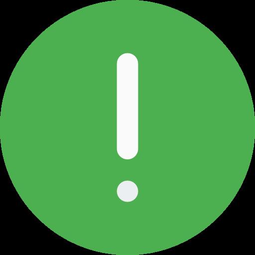 Warning  free icon