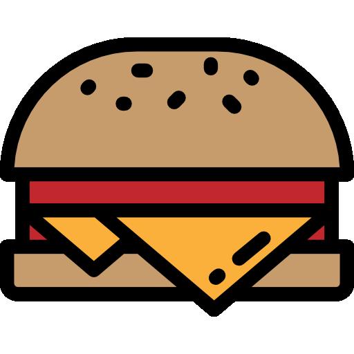 Сырный бургер  бесплатно иконка