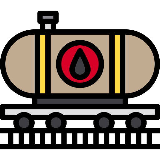 Oil train  free icon
