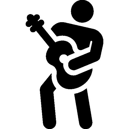 gitarrenspieler  kostenlos Icon