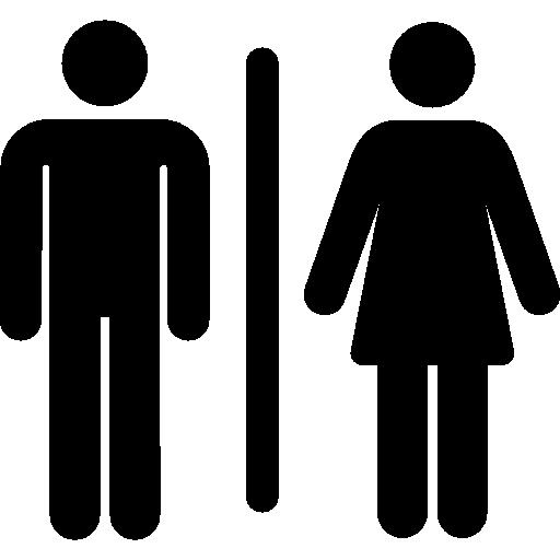 baño  icono gratis