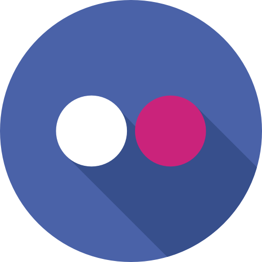 flickr  icono gratis