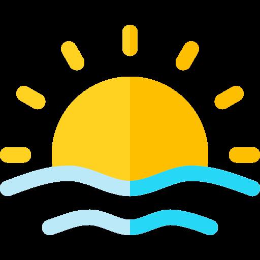 Sunrise  free icon