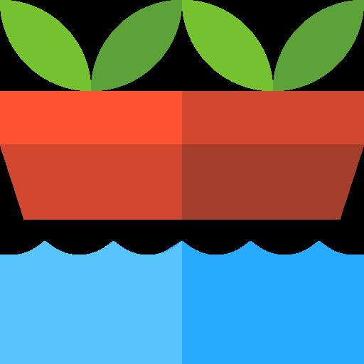 jardinage hydroponique  Icône gratuit