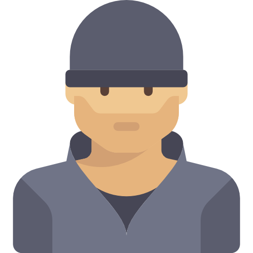 Criminal  free icon