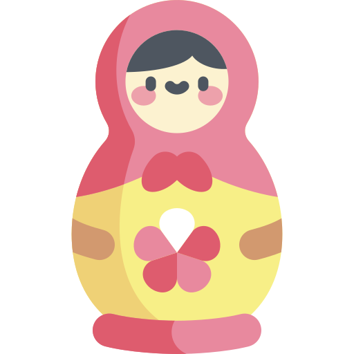 마트 료 시카 인형  무료 아이콘