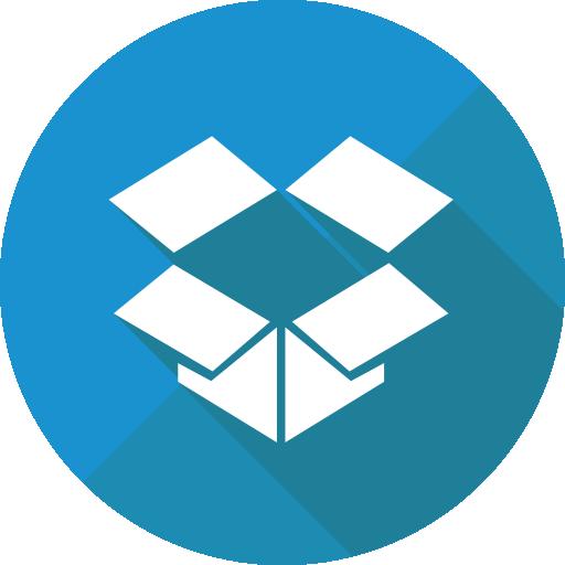 Dropbox  free icon
