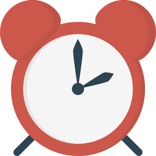 despertador  icono gratis