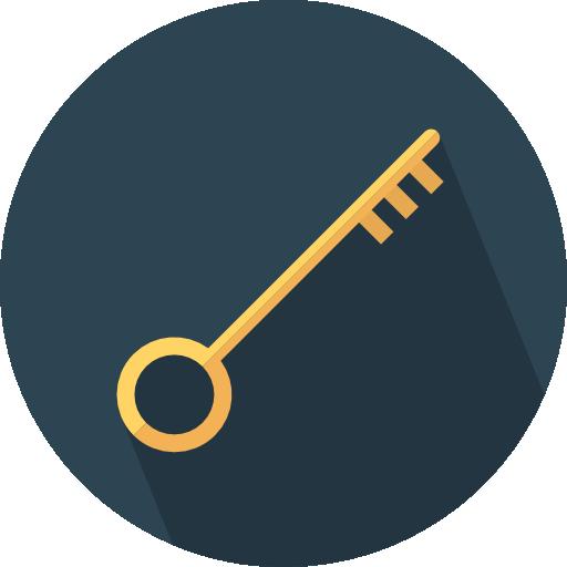llave  icono gratis