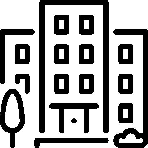 edificio  icono gratis