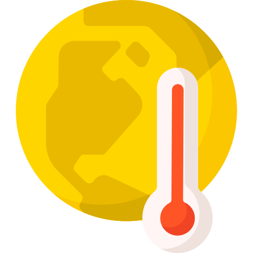Global warming  free icon