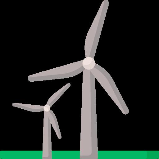Wind energy  free icon