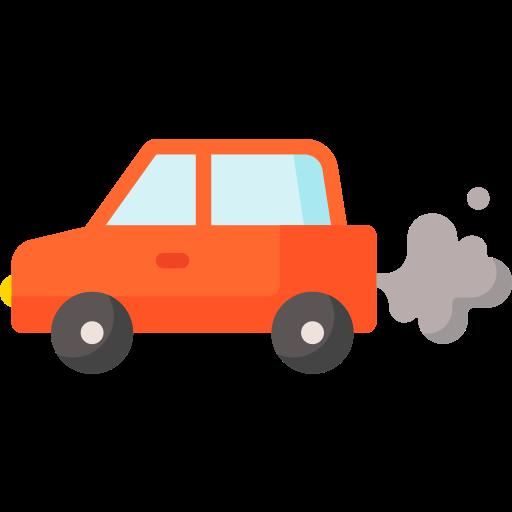 Emission  free icon