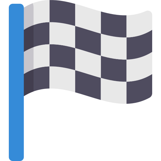 Bandeira de corrida  grátis ícone