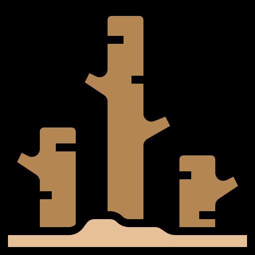 Deforestation  free icon