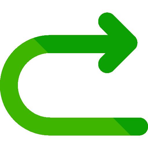 Turn  free icon