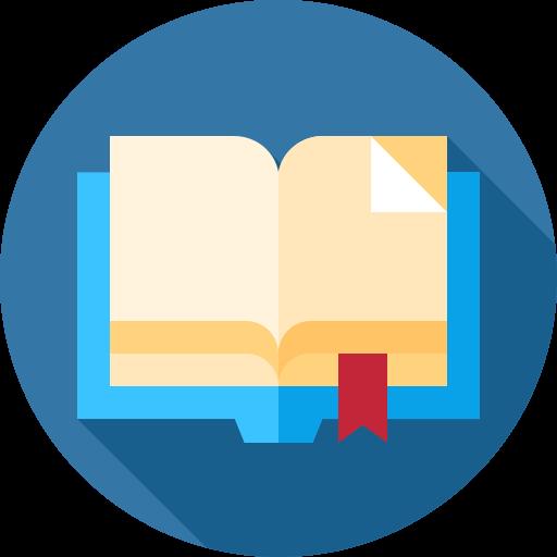 Libro abierto  icono gratis