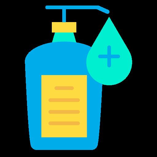 Desinfetante para as mãos  grátis ícone