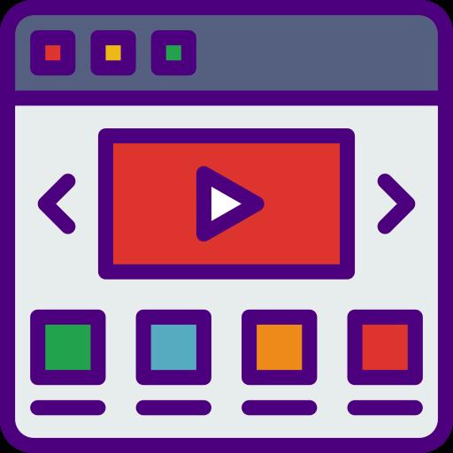 Видео в Интернете  бесплатно иконка