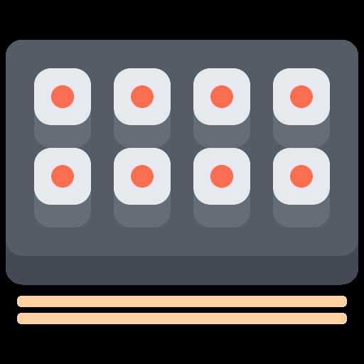 sushi rolle  kostenlos Icon