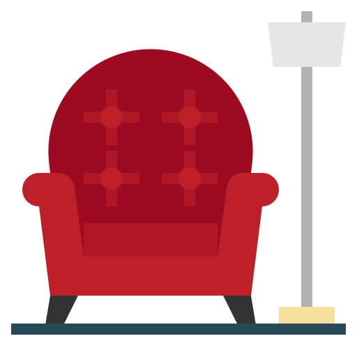 Armchair  free icon