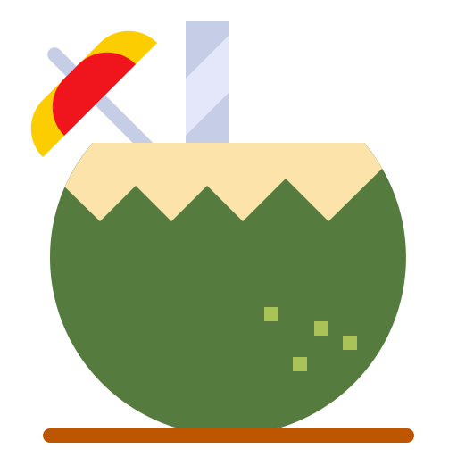 Coconut water  free icon