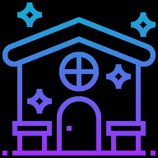 maison propre  Icône gratuit