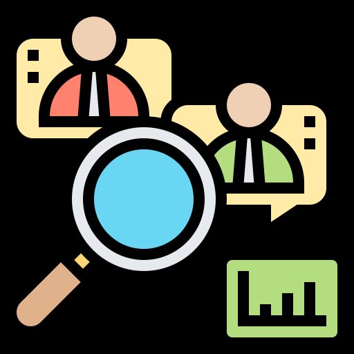Qualitative research  free icon
