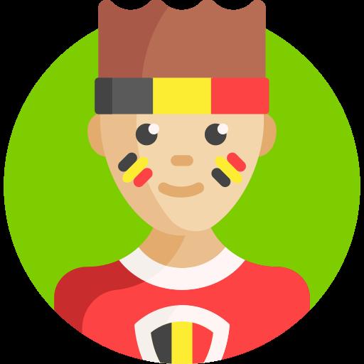 Футбольный фанат  бесплатно иконка